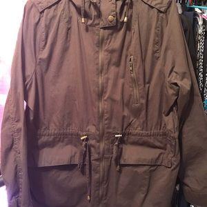 Jackets & Blazers - Women's Fashion Nova Spring Jacket sz 1X Brown